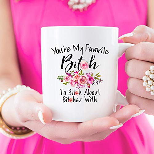 Best Friend, Long Distance, Friendship, Gift, Mug For, Bestie, Mug For Best Friend, Coffee Mug, Gift For Her, Mugs, BFF, Personalized Gifts Unique Gift Novelty Ceramic Coffee Mug Tea Cup - 11oz White