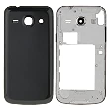 Replacement Pats, iPartsBuy Full Housing Cover(Middle Frame Bazel + Battery Back Cover) for Samsung Galaxy Core Plus / G350 ( Color : Black )