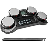 Alesis CompactKit 4 | Portable 4-Pad Tabletop Electronic...
