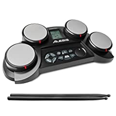 The Perfect Kit For The Aspiring Drummer The Alesis CompactKit 4 is a tabletop electronic drum kit with everything a young drummer needs to sharpen their skills on their way to drumming stardom! Four velocity-sensitive drum pads deliver reali...