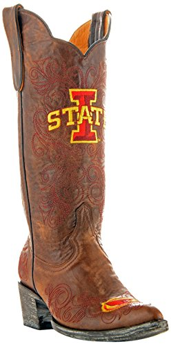 Ncaa Iowa State Cyclones Womens 13-inch Gameday Boots Brass