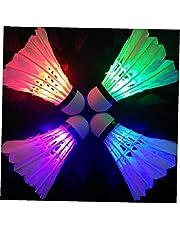 Ruluti Nachtlampje, donkere verlichting, stuurwiel, ledverlichting, sportbadkamer, accessoires voor de achterkant van het lichtpunt (willekeurige kleur)