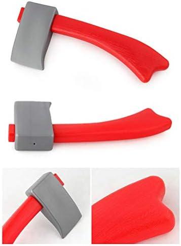 Konrev 子供 消防士 道具セット ごっこ遊び 子供用おもちゃ コンパクト安全 コスチューム ハロウィン コスプレ コスチューム キッズ なりきり 男の子 帽子 小物 工具付き 7~14歳の子供対応 5PCS
