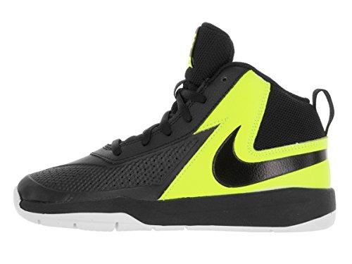 Nike Team Hustle D 7 (Ps), Zapatillas de Baloncesto para Niños Black/Black Volt White