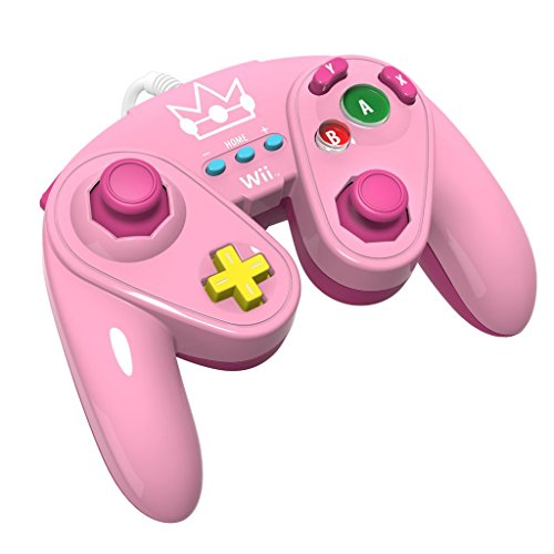 PDP Wired Fight Pad Wii Peach