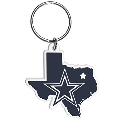 NFL Dallas Cowboys Home State Flexi Key Chain