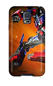 New Style Case For Galaxy S5 With Nice Optimus Prime Appearance