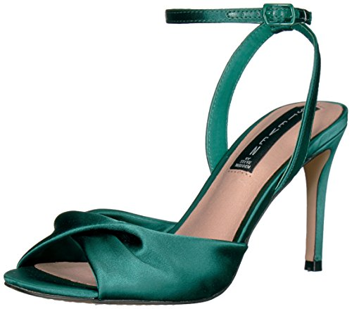 STEVEN by Steve Madden Women's Naira Pump, Green Fabric, 8.5 Medium US