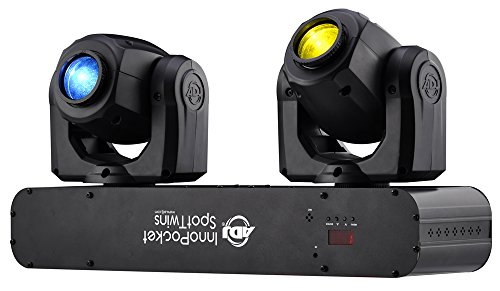 ADJ Products INNO POCKET SPOT TWINS DUAL MINI MO HEAD by ADJ Products