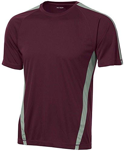 Joe's USA Men's Short Sleeve Moisture Wicking Athletic ()