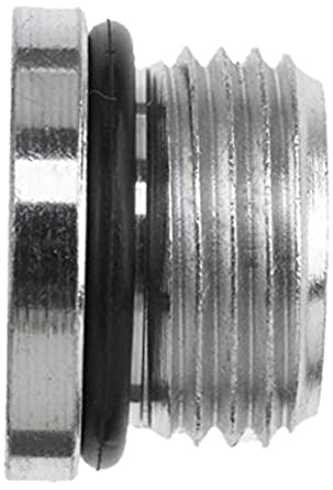 Brennan 6408-12-O Steel Straight Thread O-Ring  Tube Fitting 3//4 Tube OD External Hex Plug 1-1//16-12 Male Straight Thread O-Ring Boss