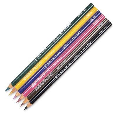 AMACO Underglaze Decorating Pencils, Assorted Colors, Pack of 6