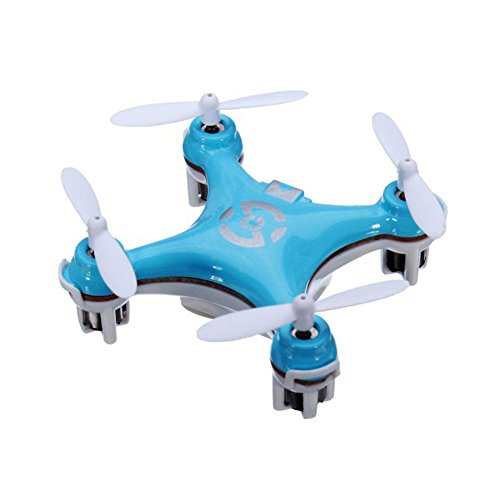 Yipa 3D Flip Mini RC Drone with LED Flash Light 29mm 2.4G 4CH 6 Axis Gyro CX-10 UFO Quadcopter Blue