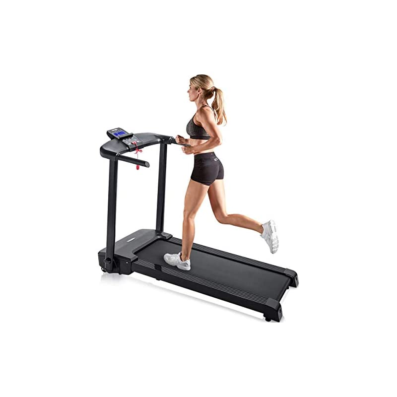 Merax Electric Folding Treadmill Easy As