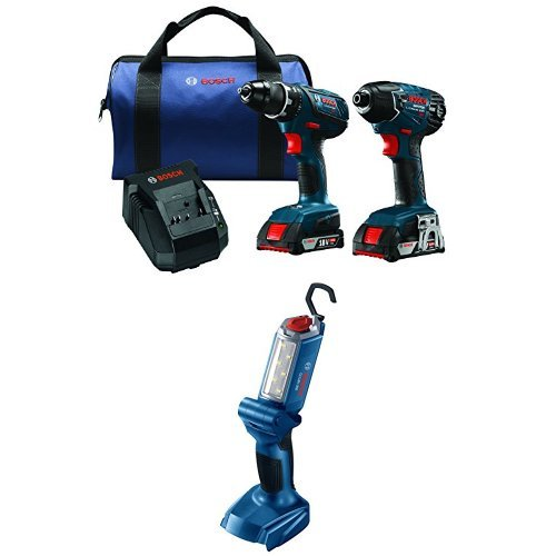 Bosch 18-Volt Cordless Drill Driver/Impact Combo Kit with 2