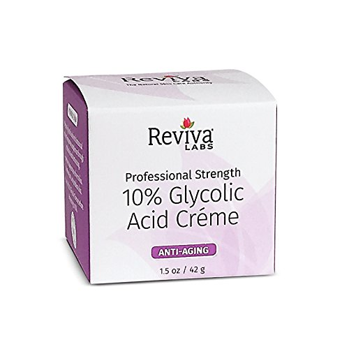 2x 10% Glycolic Acid Cream, Reviva Labs, 1.5 Oz
