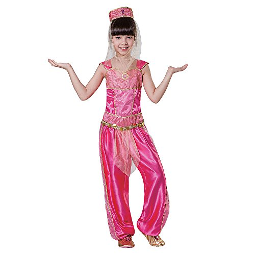 Totally Ghoul Arabian Princess Costume, Girl's size Small