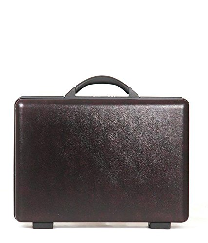 American Tourister Voyager Plus Burgundy ABS Briefcase 9cm