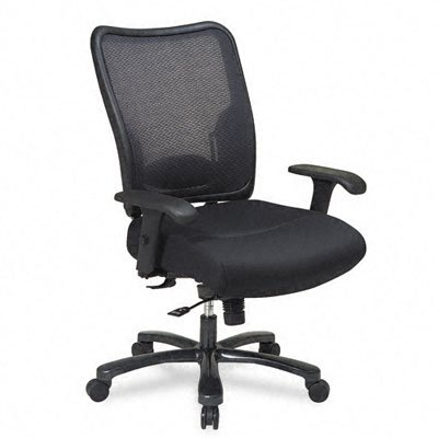 Office Star Air Grid Back and Seat Executive Chair with Adjustable (Air Grid Seat Executive Chair)