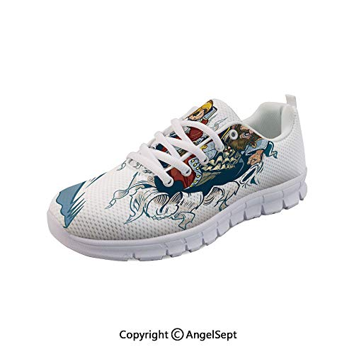 - Women's Sneakers Corsair Buccaneer Rips Out Effect Casual Sport Run Shoes