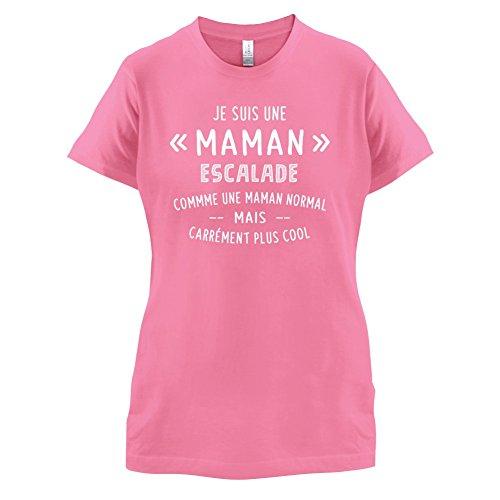 une maman normal escalade - Femme T-Shirt - Azalée - M