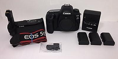 Canon EOS 5D Mark IV DSLR Body - With Canon BG-E20 Battery Grip from Canon