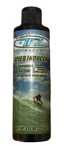 Wave Zone Speed Inducer - Bottom Seal Wax for Skimboards - Made in the USA by Wave Zone Skimboards