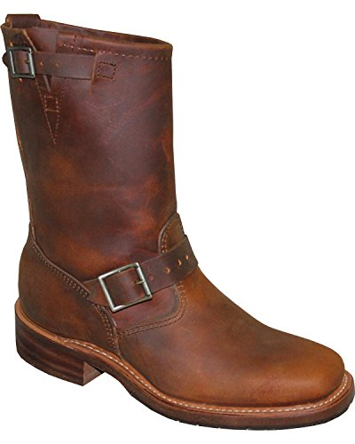 By Boot Tan Engineer Mens D 11 Sage 8 Square Abilene Toe qEAaRpwxn