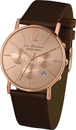 Jacques Lemans La Passion LP-123D Wristwatch for women Flat & light