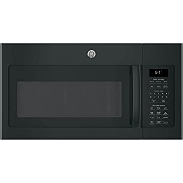 GE JVM6175DKBB Over-The-Range Microwave, 1.7