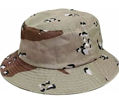 Image Unavailable. Image not available for. Color  S Cloth Camo Desert  Bucket Hat ... 7fafd22ed