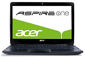 Acer ASPIRE ONE 722 - Ordenador portátil 11.6 pulgadas (2048 MB de RAM, 1000 MHz, 320 GB, Windows 7 Professional) - Teclado QWERTY español