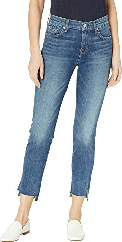7 For All Mankind Women's B(Air) Roxanne Ankle Jeans in Authentic Luck Luck 25 27 7 For All Mankind Jeans Roxanne