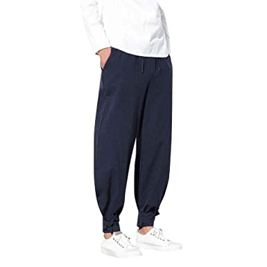 c1b8c30eb49858 Image Unavailable. Image not available for. Color: Ms lily Men's Harem Pants  ...