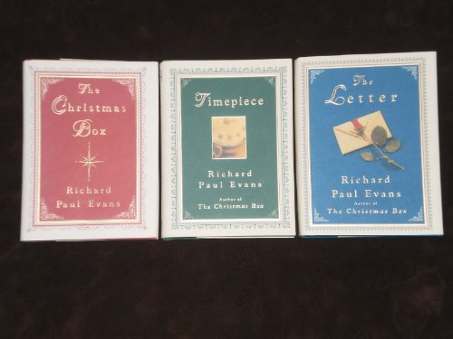 Richard Paul Evans Christmas Box trilogy complete set: Christmas Box, Timepiece, and the Letter (Christmas Box, 1-3)