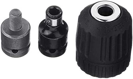 JINHUADAI 10 piece socket wrench keyless drill chuck drill screwdriver bit adapter set