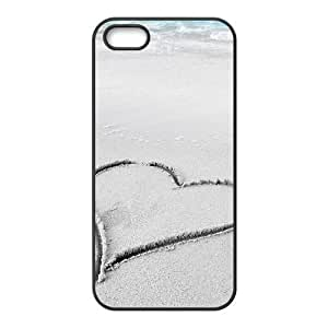 Customized case Of Heart Hard Case for iPhone 5,5S by icecream design