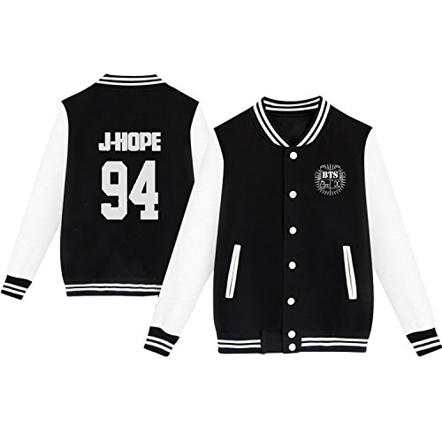 Dolpind Kpop BTS Varsity Baseball Jacket Monster JIN SUGA Jimin V Sweater