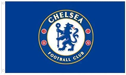 Chelsea Fc Logo Flag 3x5 Soccer Football At Amazon S Sports Collectibles Store