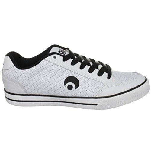 Osiris Skateboard Shoes Clip White/Black lmyrfk