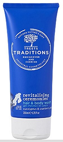TREETS TRADITIONS Revitalising Ceremonies 2 in 1 Hair & Body Wash 8.2oz (Wash Revitalising)