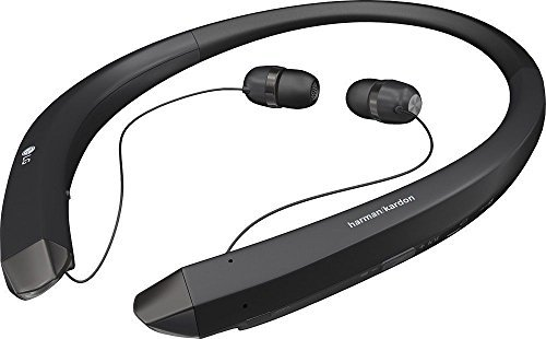 LG Electronics Tone Infinim Bluetooth Wireless Stereo Headset Deluxe Black with