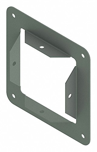 Steel Wireway Panel Adapter for Hoffman F44 Series Wireways