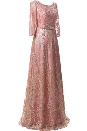 Victory Bridal - Robe - Trapèze - Femme -  rose - 50