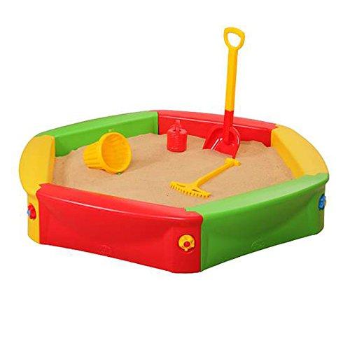 Sandkasten 140x24cm Bällebad Kasten Sandkiste Sandbox Sandkiste Kunststoff
