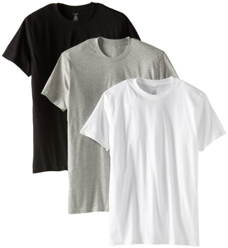 Amazon.com  Calvin Klein Men s 3-Pack Classic Crew Neck T-Shirt  Clothing afd759abab1a