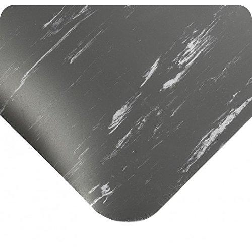 Wearwell 419.78x3x3AMCH UltraSoft Tile-Top AM Mat, 3' Len...