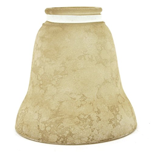 Vanity Glass Shade - Glass Shade Vanity / Ceiling Fan Replacement Globe Textured Tan Scavo 236-G07