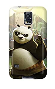 Premium Kung Fu Panda 2 Movie 2011 Back Cover Snap On Case For Galaxy S5 by lolosakes