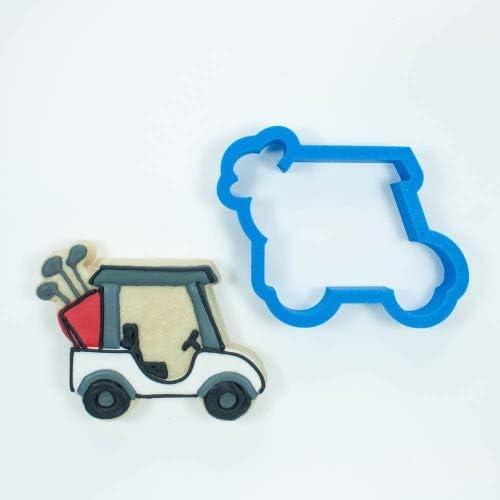 Frosted Cookie Cutters – Juego de golf carro de golf, palos de ...